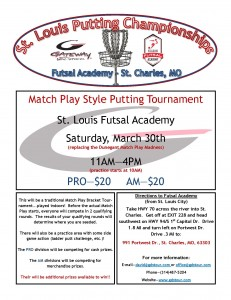 STL Putting Championships Flyer